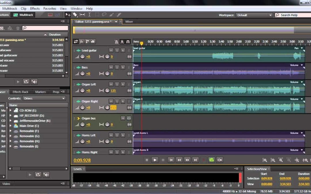 Vocoder Effect In Adobe Audition 1.5