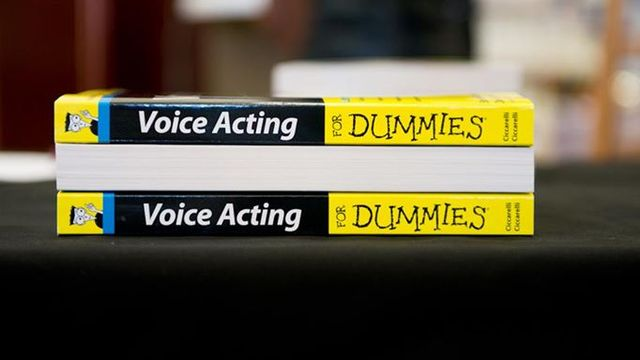Voice Acting For Dummies Preview