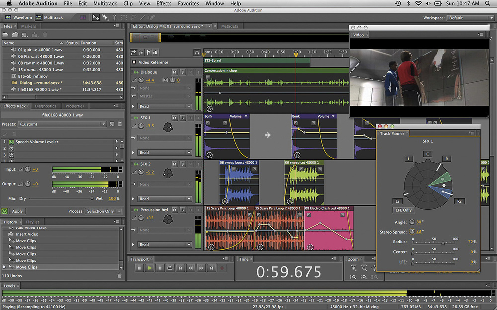 Adobe Audition CS5.5 For Mac and PC Is Here